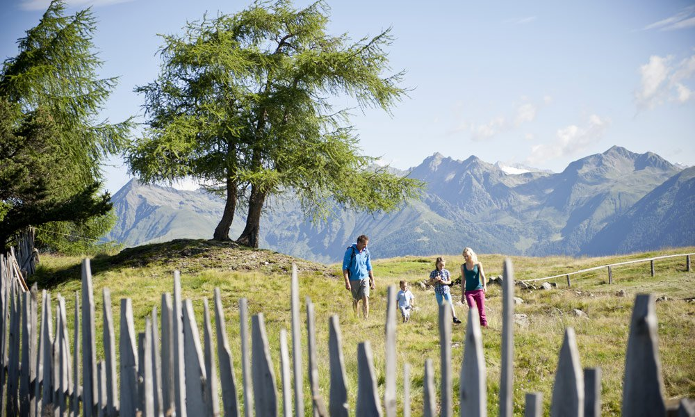 The Rodenecker Alm: here there is an attractive breathtaking view
