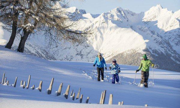 In den Bergen Südtirols sportlich aktiv