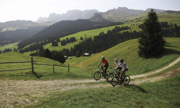 Das Mountainbikehotel in Südtirol - die Berge auf zwei Rädern entdecken