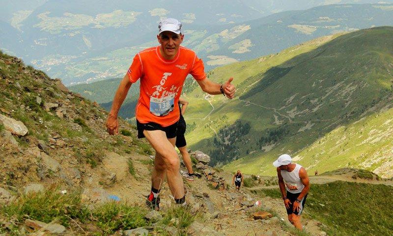 Der Marathon von Brixen zur Plose