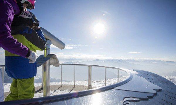 Das atemberaubende Bergpanorama im Skiurlaub im Jochtal erleben