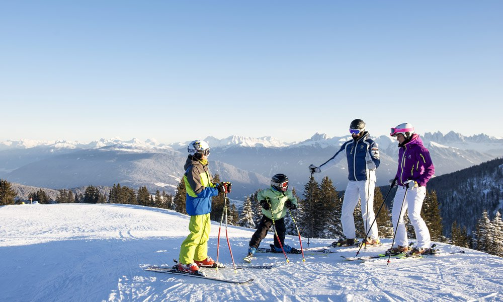 Ski tours in the Eisack Valley: experience nature at its best