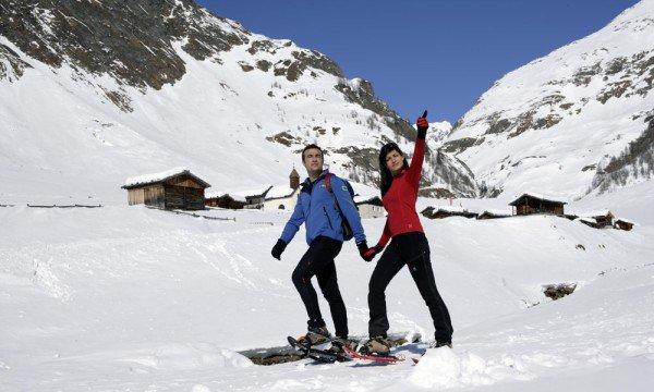 Schneeschuhwandern in Vals - diese Strecken laden zu einem Besuch ein