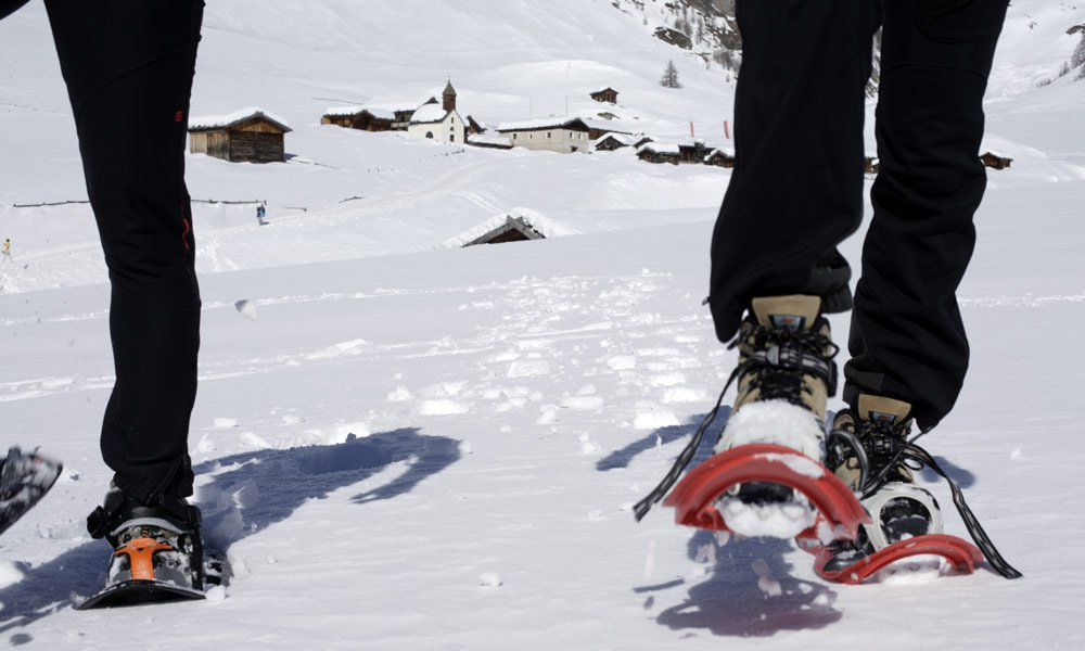 Snowshoeing in Vals: these routes invite you for a visit